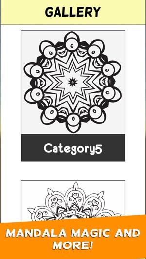 Erwachsene Mandala Malvorlagen Buch Stressabbau im App Store