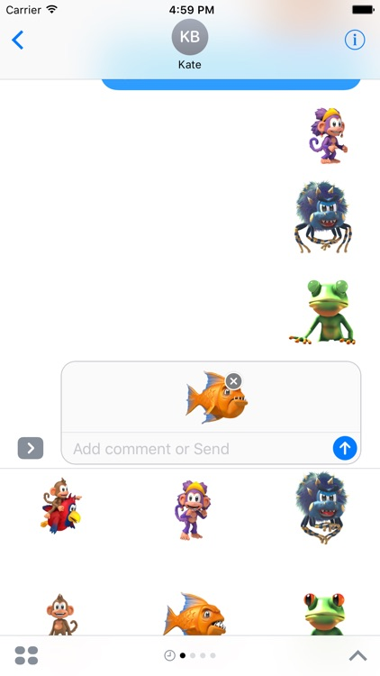 Chimpact Sticker Pack screenshot-3