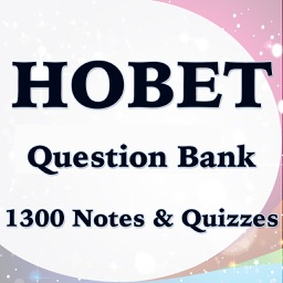 HOBET Test Bank- 1300 Flashcards Study Notes & Exam Prep