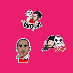 The Gunner Stickers Football