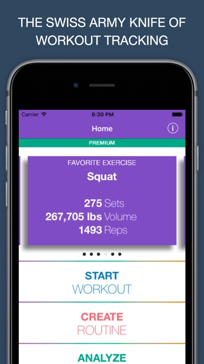 GYMINUTES - SWISS ARMY KNIFE OF WORKOUT TRACKING