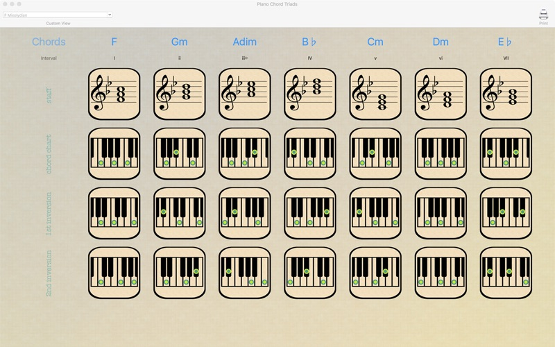 Download Piano Chord Triads 12 Music Apps For Ios Appreplays