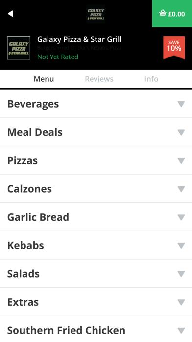 Galaxy Pizza & Star Grill screenshot three