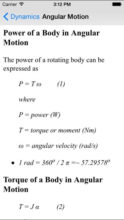 Dynamics Basics - Engineering Students screenshot-4