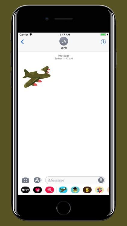 Military stickers screenshot-4