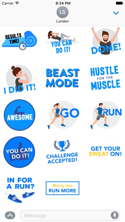 Runtastic Stickers - Inspire & Motivate