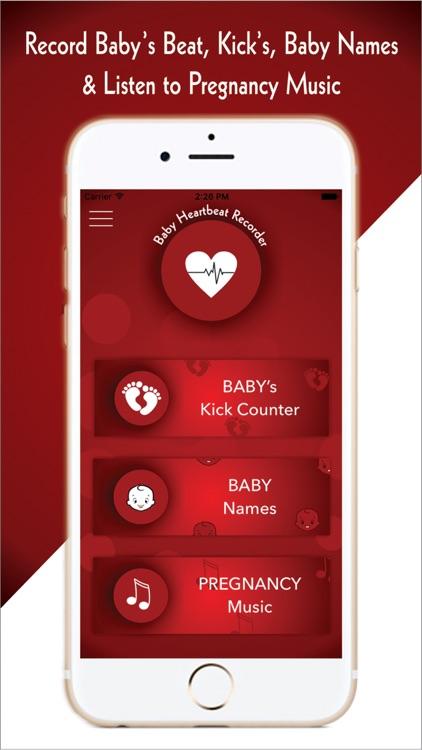 My Baby Heartbeat-Baby's Fetal Heart Rate Listener screenshot-0