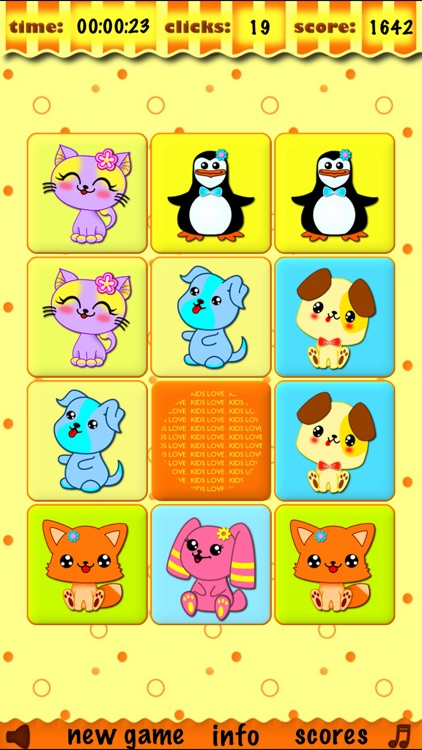 Memory matches brain trainer matching preschool toddler childrens educational training and match learning games for kids boys and girls for free