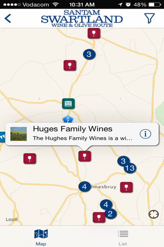 Swartland Wine and Olive Route screenshot 2