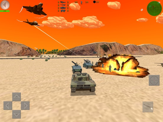 Скачать игру Desert War 3D - Tactical game