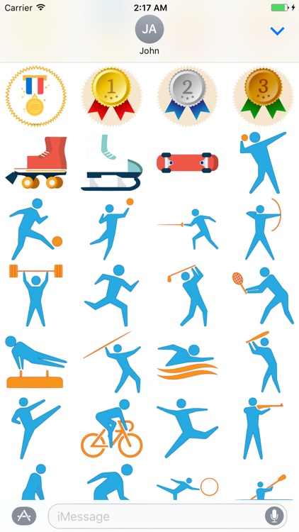 Sporting Stickers