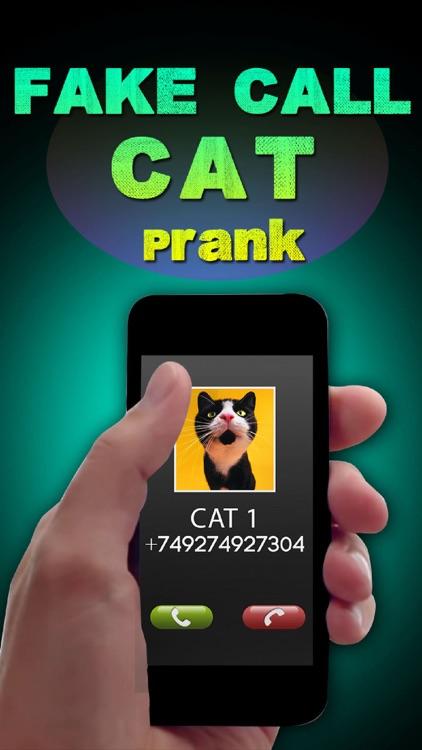 Fake Call Cat Prank