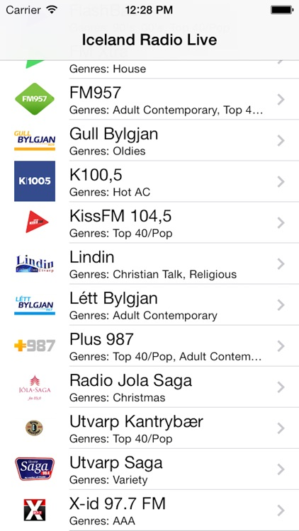 Iceland Radio Live Player (Icelandic, Ísland) screenshot-2