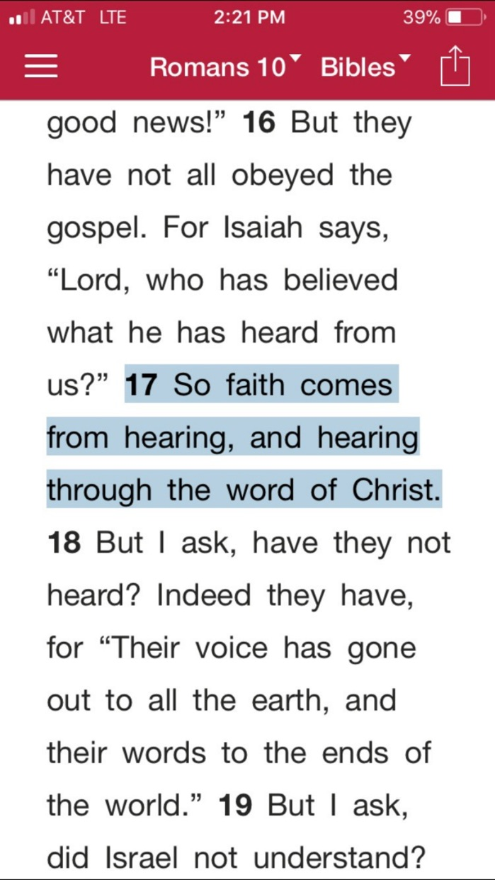 Bible.is - Audio Bibles Screenshot