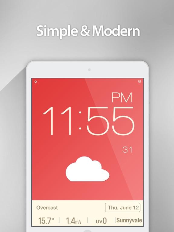 Screenshot #4 pour Red Clock.