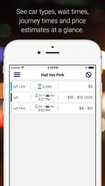 Hail Yes Pink w/ Handy Widget
