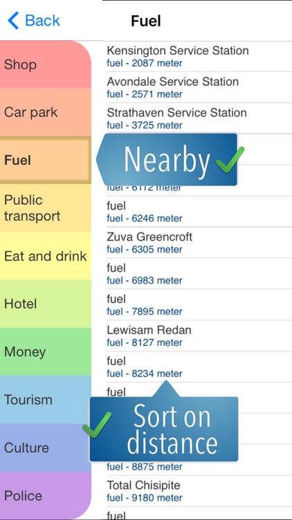 Zimbabwe Travelmapp screenshot-4
