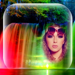 Waterfall Picture Frames - Photo Montage Editor