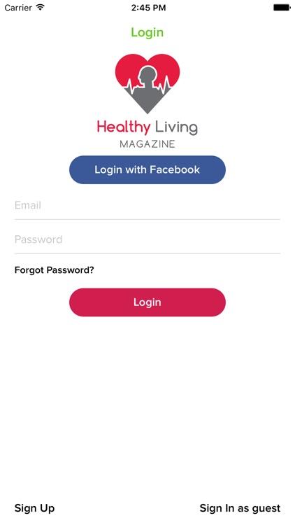 Healthy Living Magazine screenshot-3