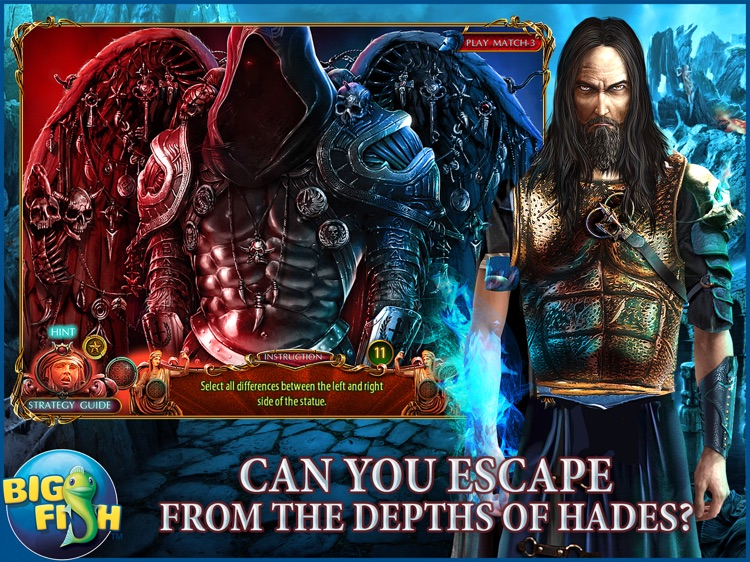 Dark Romance: Kingdom of Death HD - A Hidden Object Adventure (Full) screenshot-1