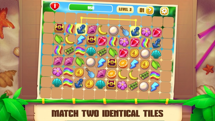 Onet Paradise: match two tiles