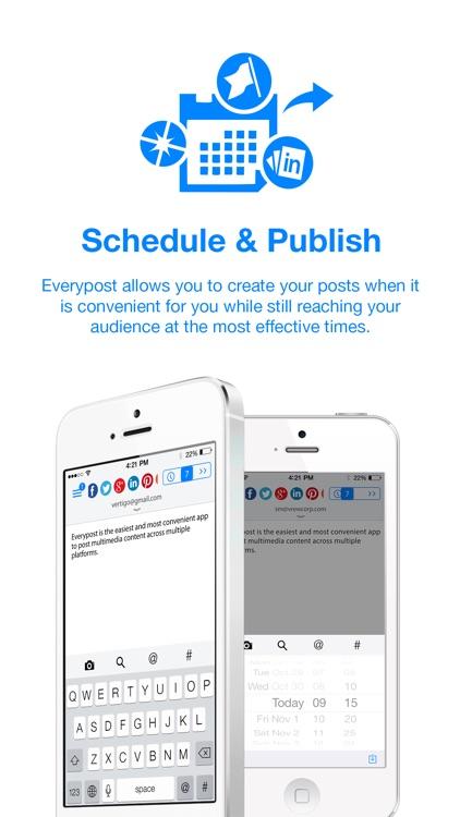Everypost for Social Media Scheduling screenshot-0