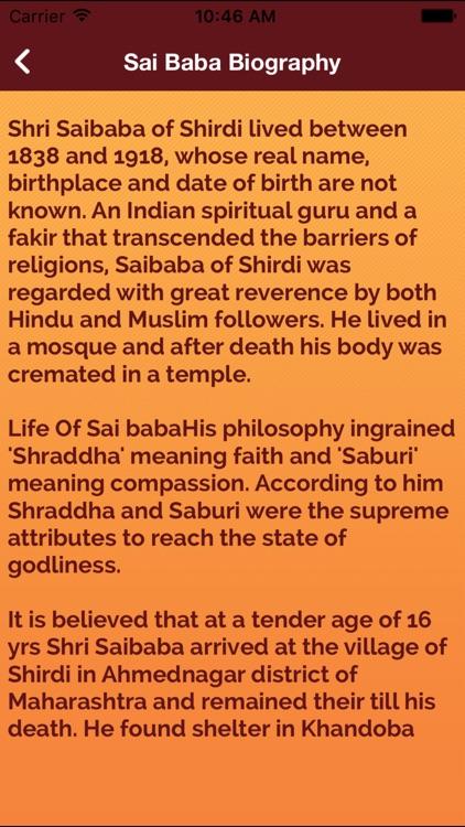The Sai Baba of Shirdi-Quotes History & Biography by Mo Moin