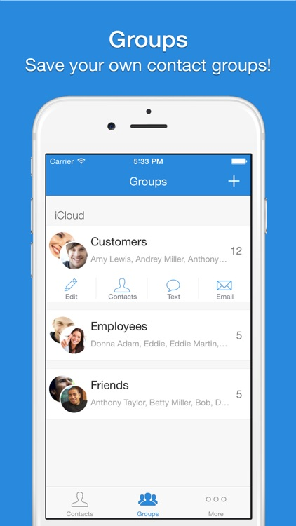 Mail 2 Group - Quickly Email Your Contacts