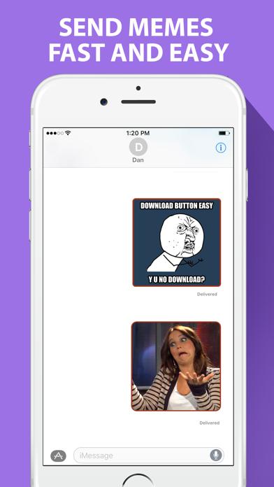 Ultimate Meme Maker for iMessage   App Price Drops