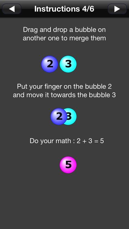 Numbers Addict Free Candy Splash screenshot-3