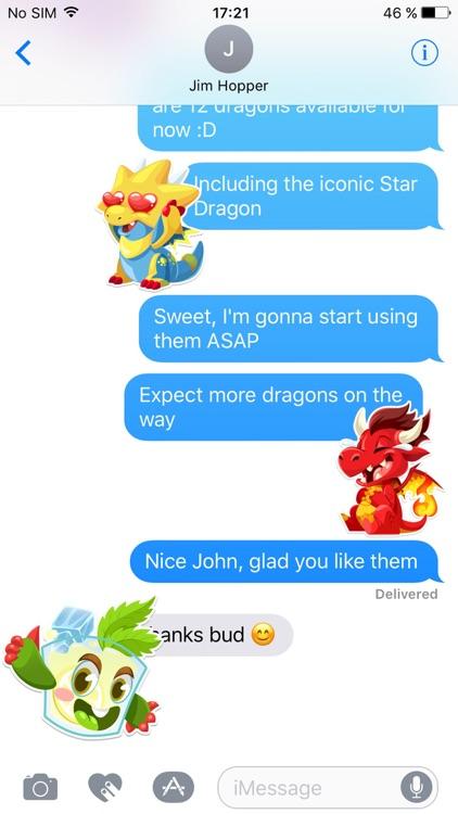 Dragon City Stickers