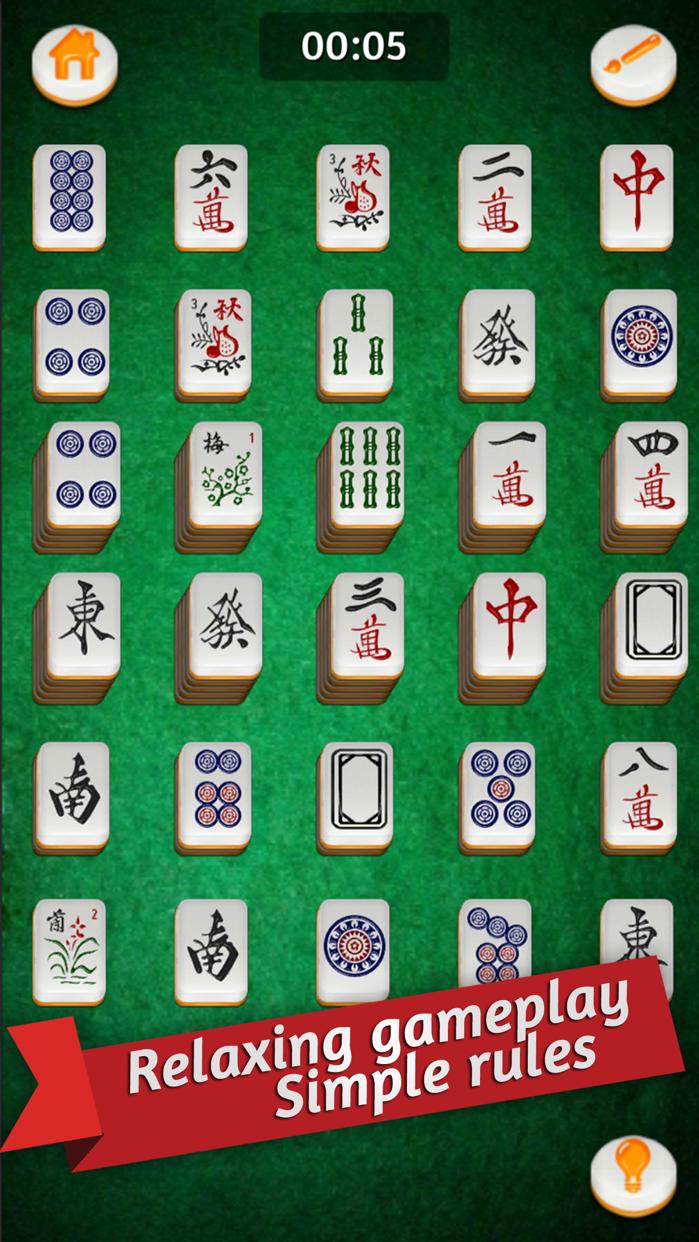 Mahjong Gold Solitaire Screenshot