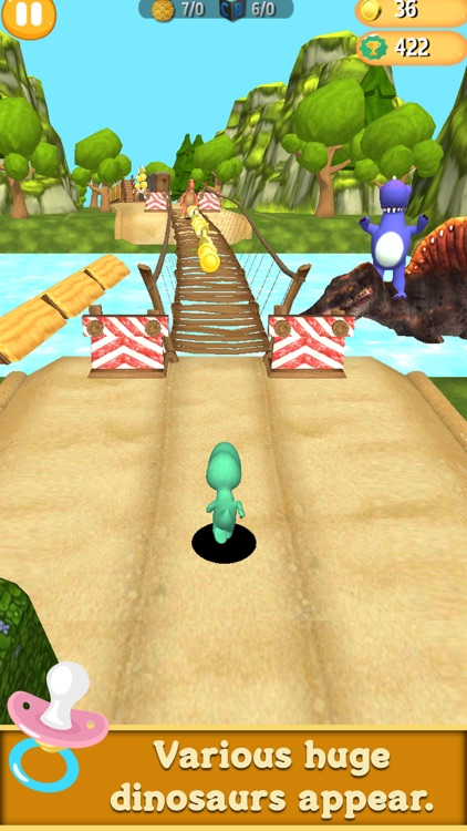 Dino run Dinosaur runner game by dreamingtree Inc