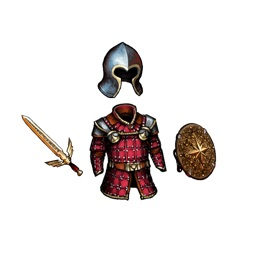 Fantasy / Medieval Weapons and Armors Sticker Pack