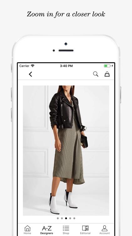 NET-A-PORTER: Designer Fashion screenshot-4