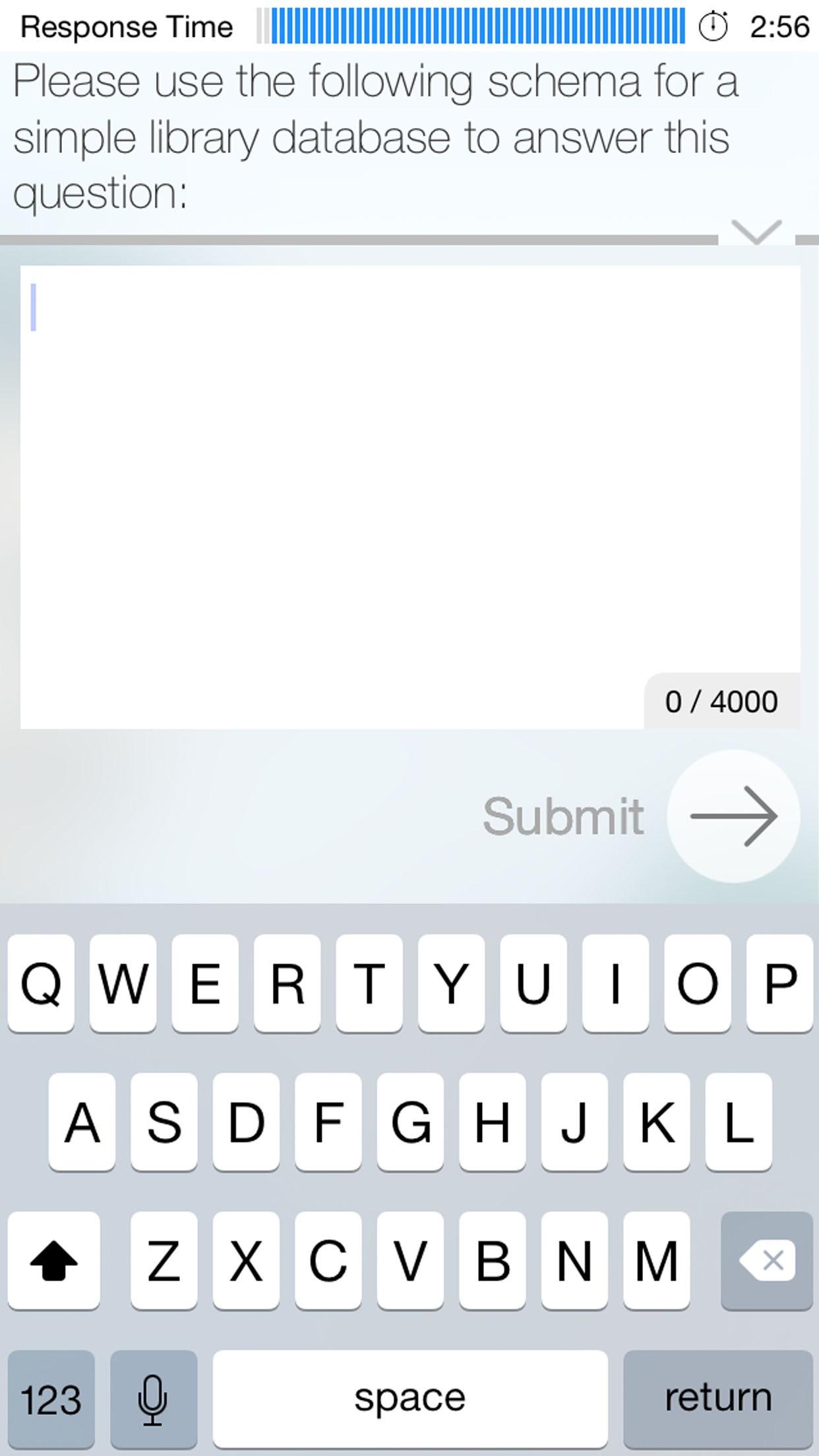 HireVue Screenshot