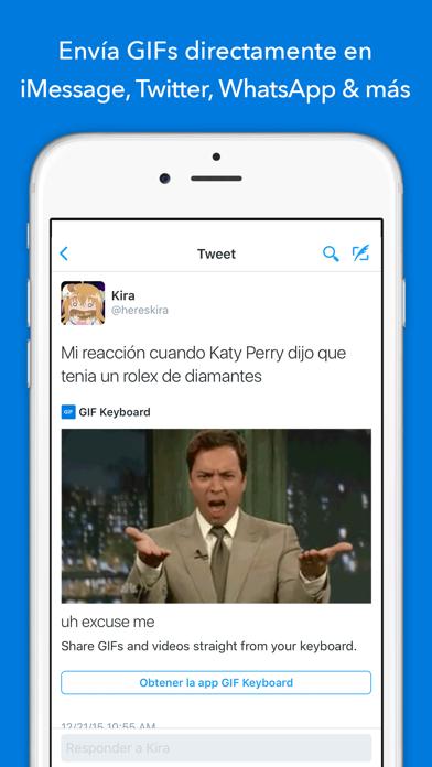 Screenshot for GIF Keyboard in Peru App Store