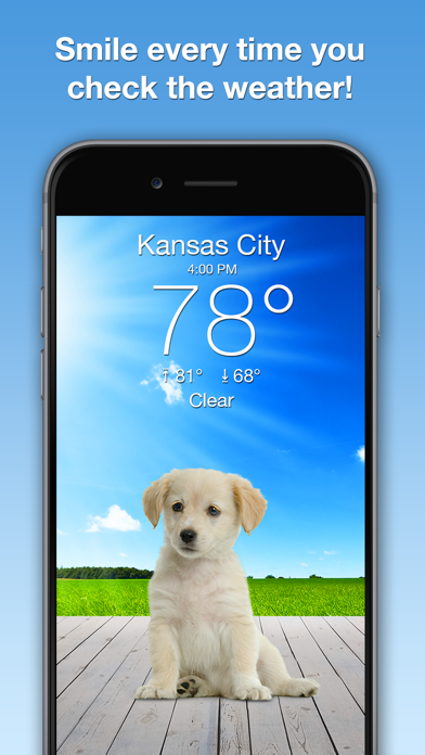 download Weather Puppy: Forecast & Dogs apps 3