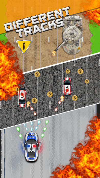 Police Road Riot Shooter screenshot one