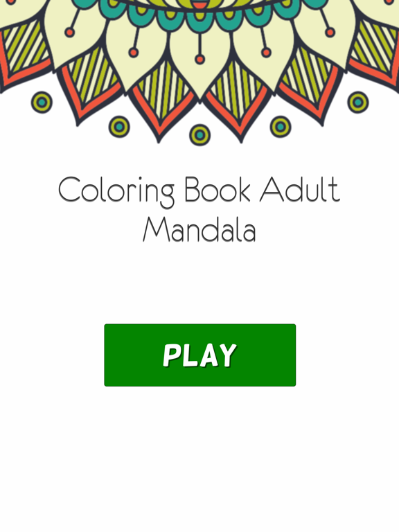 Coloring Book For Adults Pigment Pages Relaxation-ipad-2