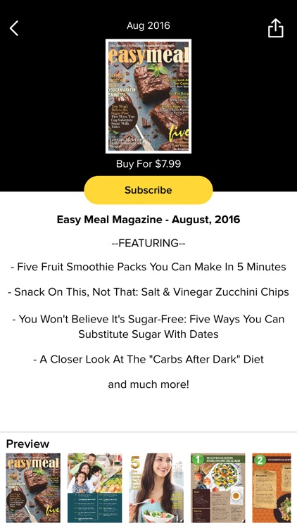 Easy Meal Magazine