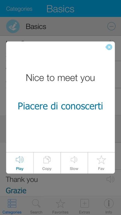 Italian Pretati - Speak with Audio Translation