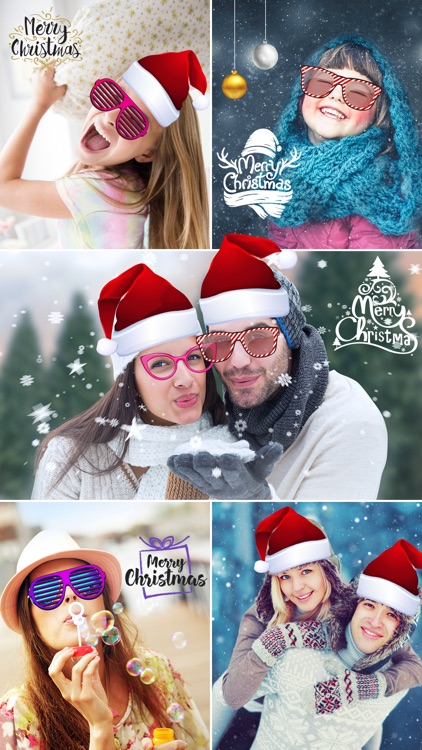 Christmas Photo Effects - ELF Yourself Santa Booth