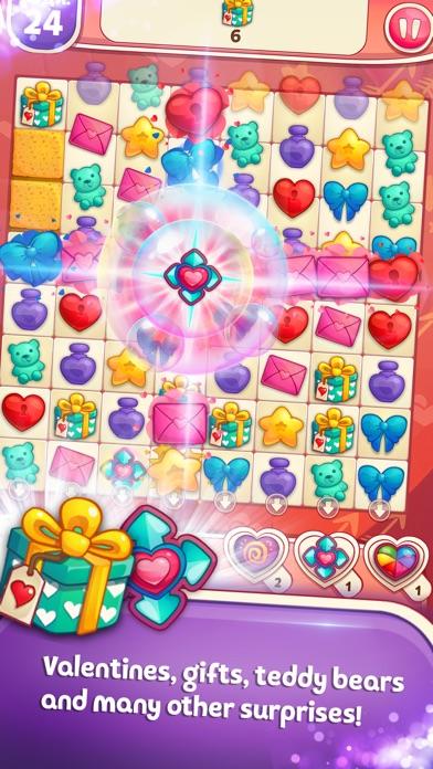 Sweet Hearts Match 3 screenshot 2