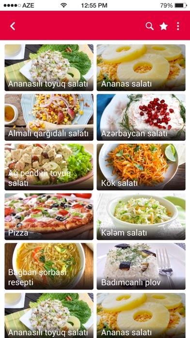 Screenshot for Dadlı - Yemək reseptləri in Azerbaijan App Store