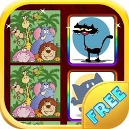 Animal Memory Game For Kids - Animal Memory