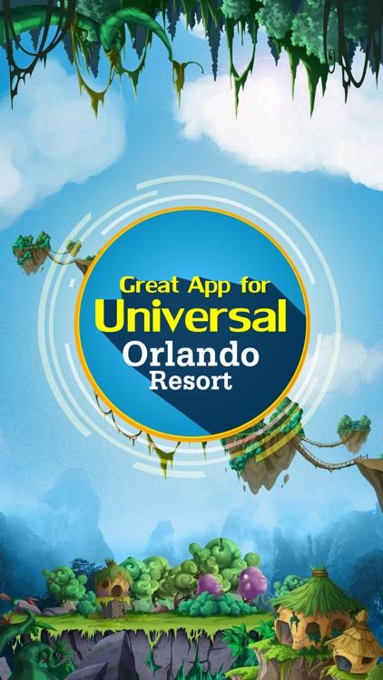 Great App for Universal Orlando Resort