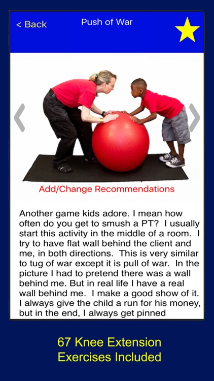 Pediatric Physical Therapy - Knee Extension
