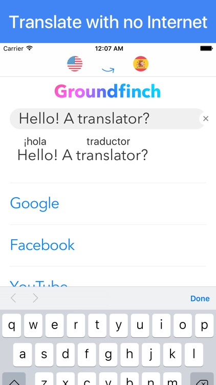 Offline translator Goabird∞ screenshot-0