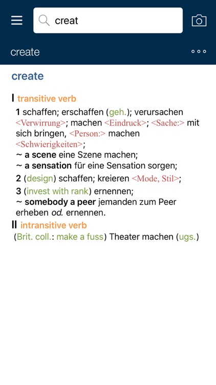 Concise Oxford German Dictionary screenshot-4